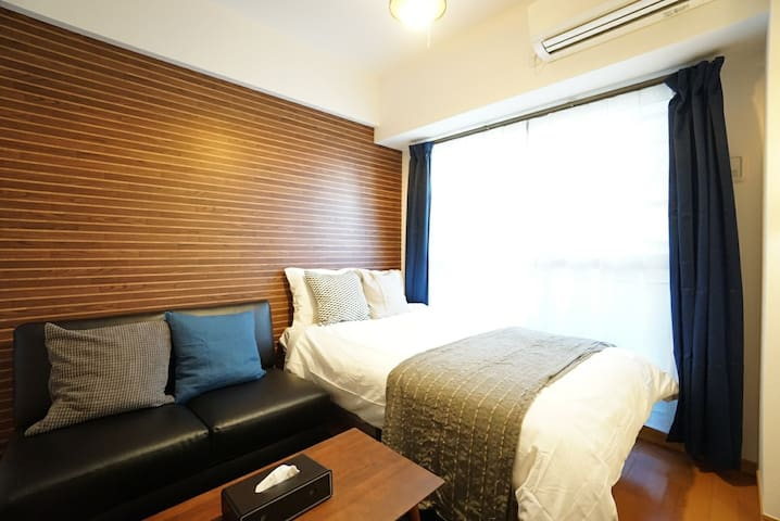 HYM3F【Legal Room】6 mins walk Nankai Namba station