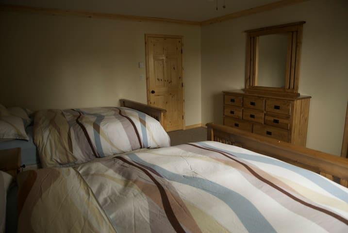 "Cozy ""Lodge Style Bedrooms"""