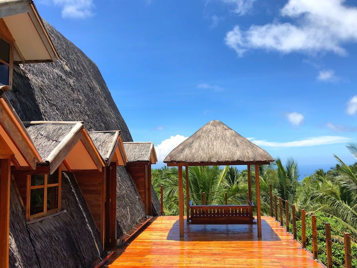 Camiguin Volcano Houses - Entire A-Frame House