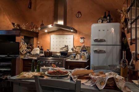 Nido Toscano - Casa nel Borgo di San Clemente - San Clemente In Valle