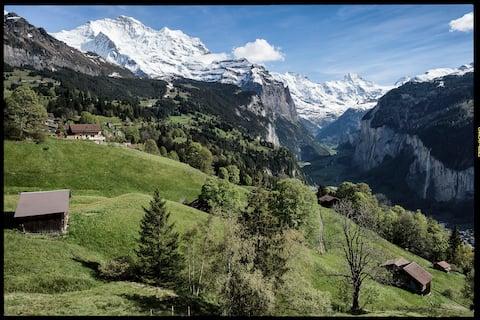 Wengen - ski resort - peaceful and safe