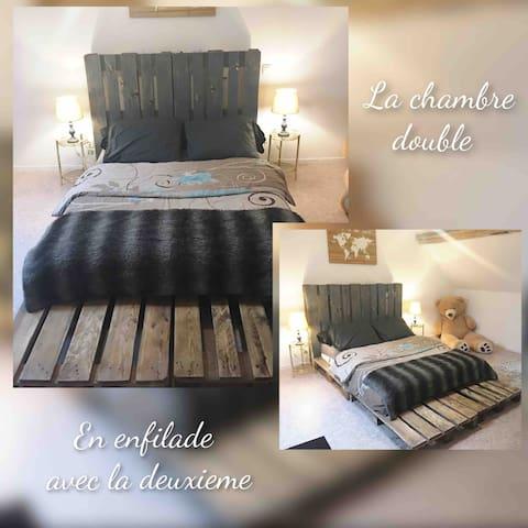 La chambre palettes d'Auberive!