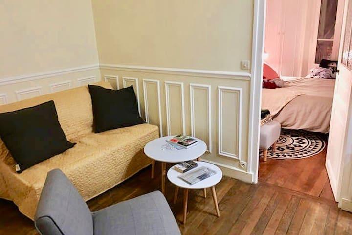 Charming 2 Rooms Apartment - Boulogne-Billancourt - Departamento