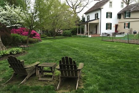 Charming 1800s Philadelphia Farmhouse - Nether Providence Township - 一軒家