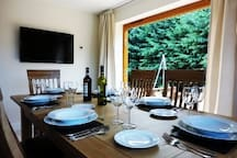 Dining View to Garden