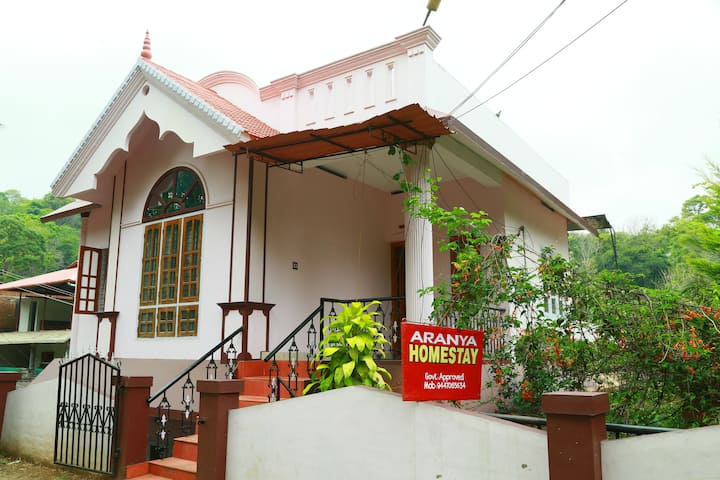 Aranya Homestay 3 rooms, Thekkady