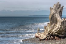 The Dungeness National Wildlife Refuge in Sequim.