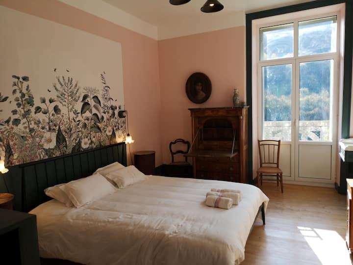 Villa Meyriem - Chambre Rose