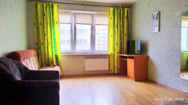 Апартаменты недорого Богатырский 56 к3