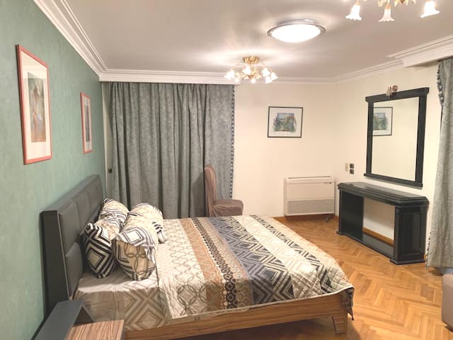 Private Bedroom in the Heart of Cairo