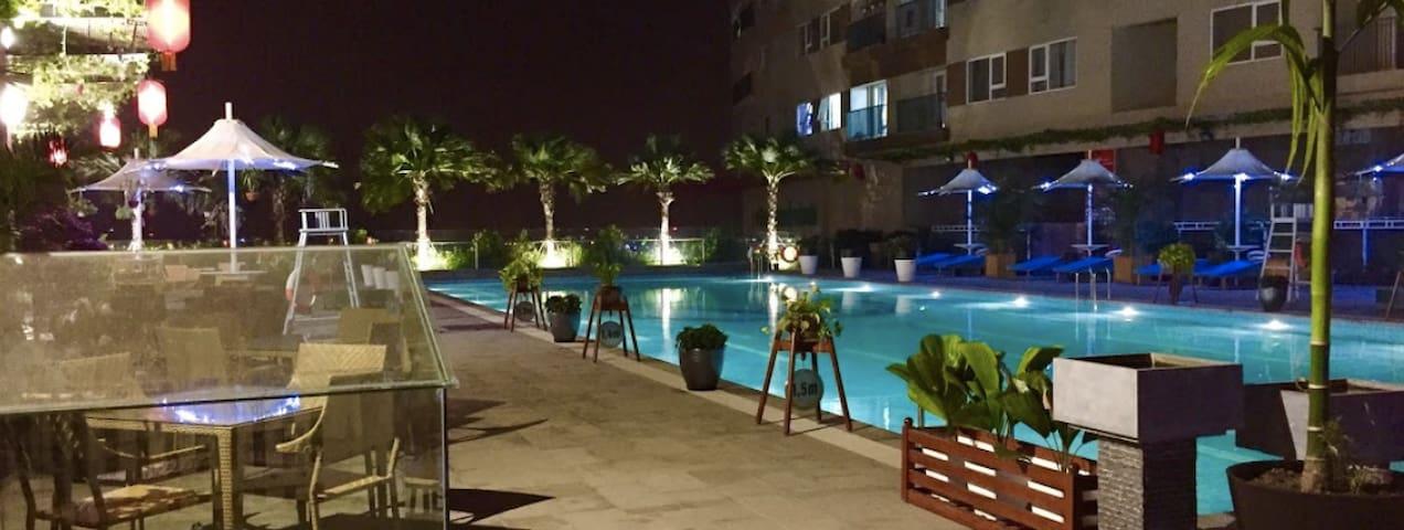 Quiet Room 26F in South of Hanoi - Apartemen