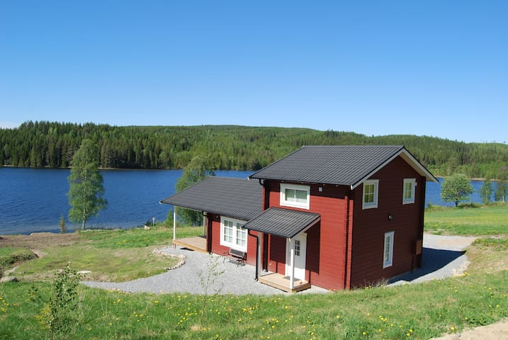 Luxury Cabin with Sauna and Panoramic Views