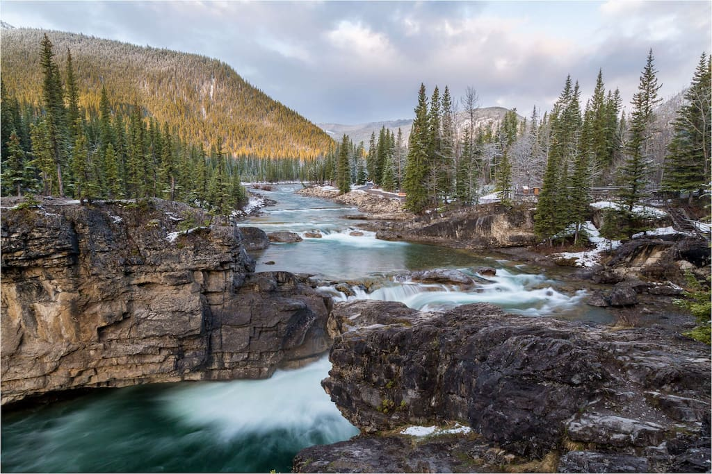 Elbow Falls, 30 minutes away