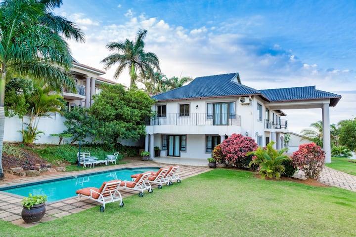 Umhlanga home with Stunning Sea Views.