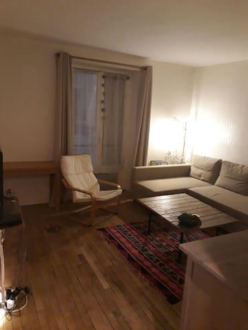 Appartement cocooning au pied du Sacré Coeur