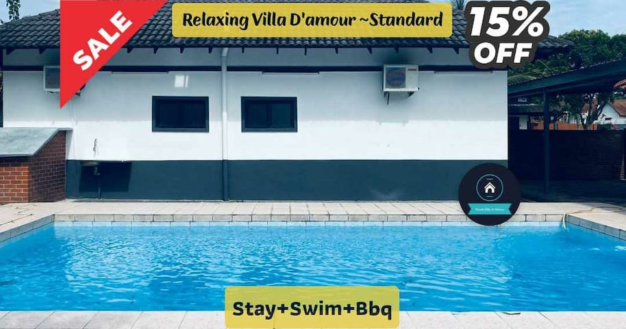 "Relaxing Villa ""D'amour2~Standard"" ~ Stay+Swim+Bbq"
