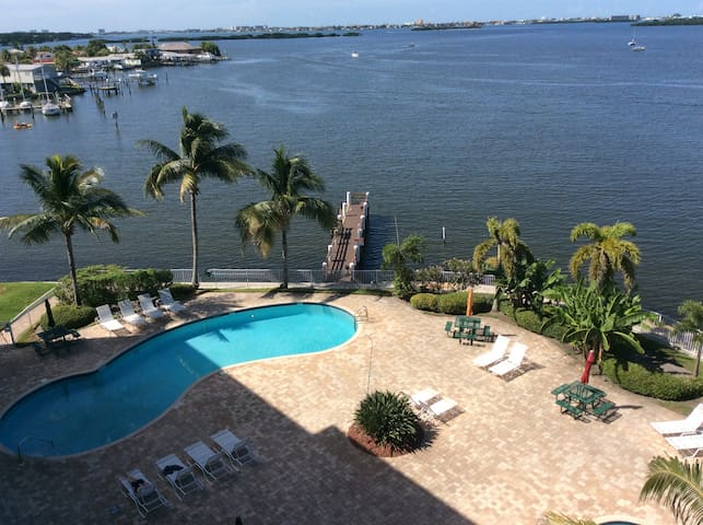 Boca Ciega Resort waterfront condo