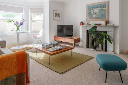 Stylish private apartment in a great location.