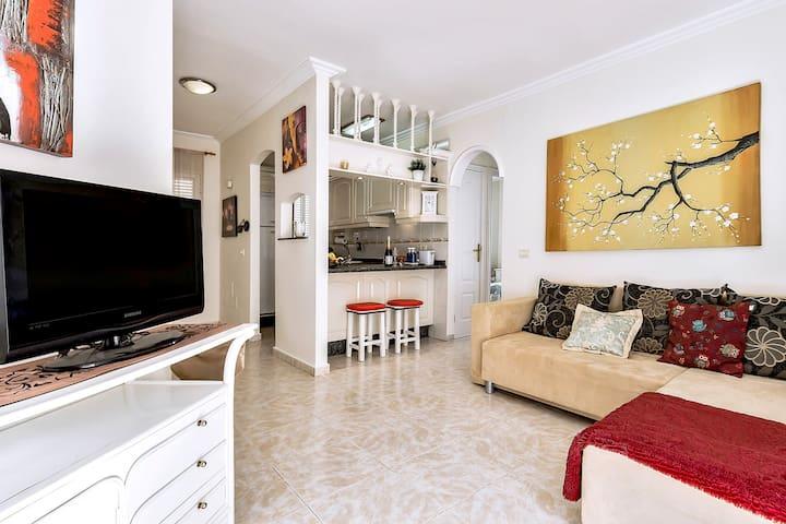 Cozy 2 bedroom apartment Costa Silencio