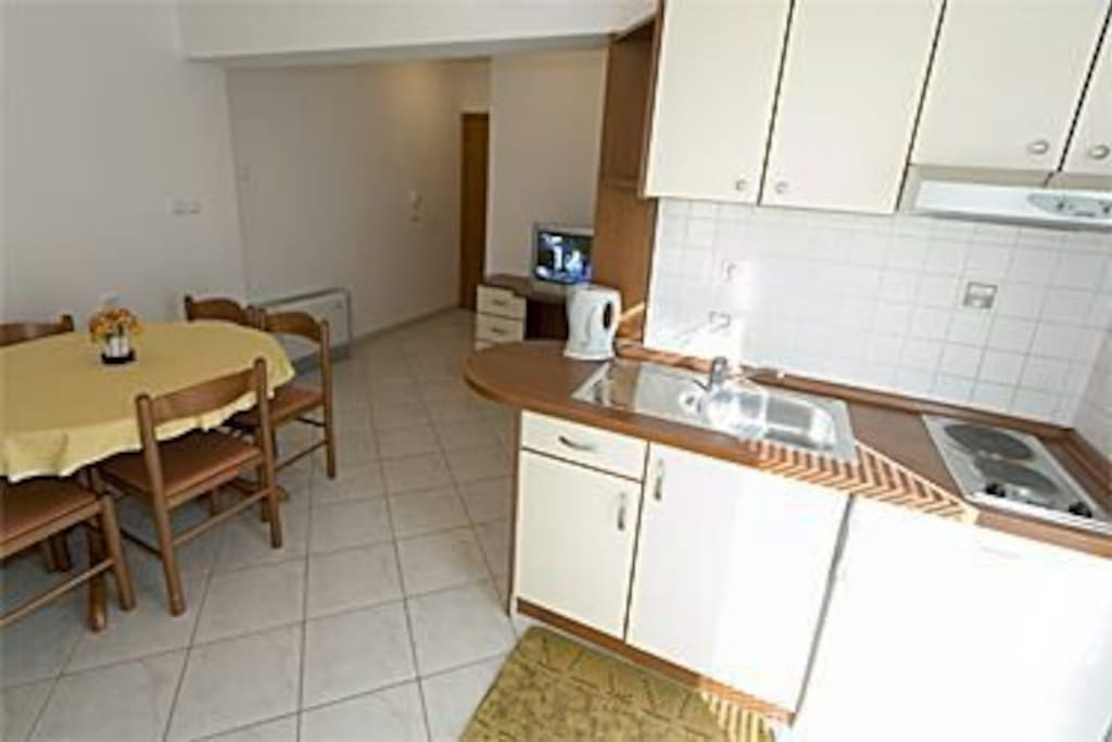 Kitchen with dining