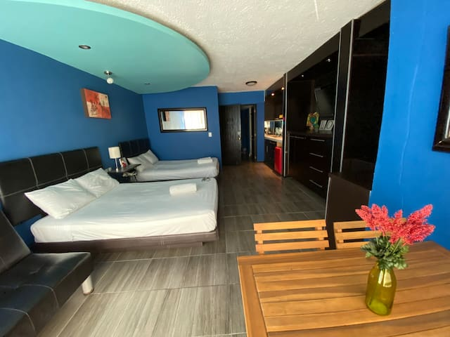 Private loft in hotel zone Cancún !Beach-PLAYA !!!