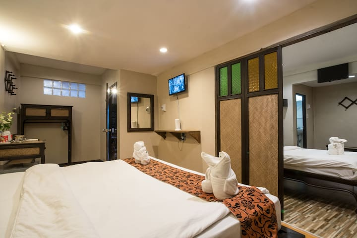 116 Guesthouse Chiangmai Family room city center