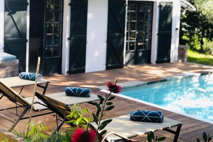 Maison avec piscine pour 4 personnes à Guethary