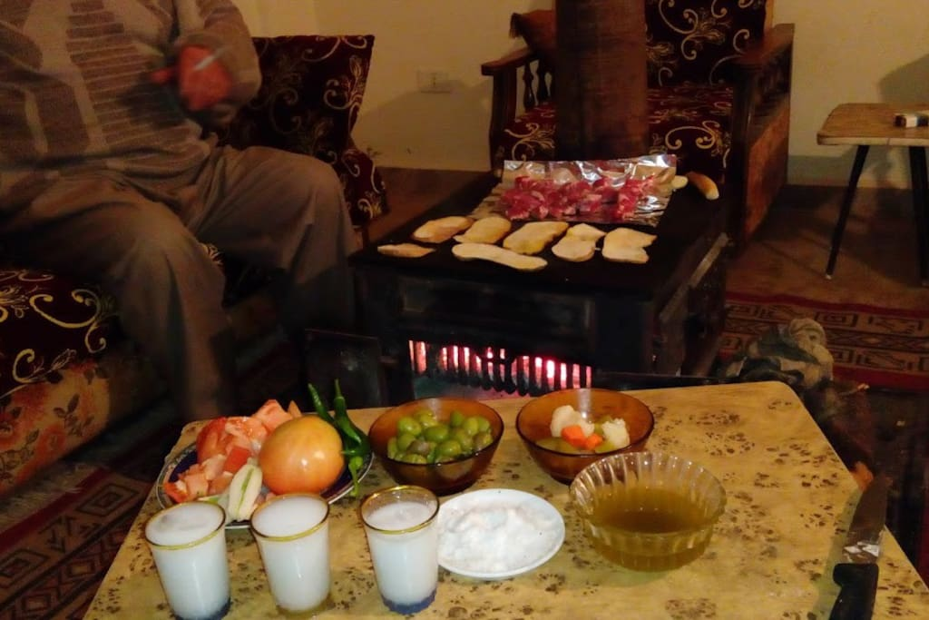 Authentic Lebanese Winter room