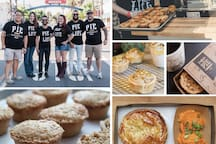A very popular pie restaurant - serving sweet/savory pies, coffee and beer.