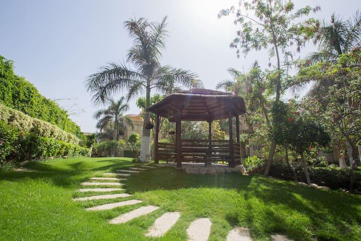 3 Bedroom duplex  garden view at El Safwa Resort
