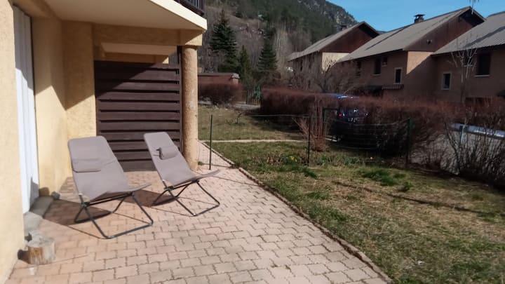 Appartement avec jardin Briançon