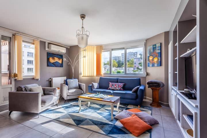 Splendide appartement moderne au coeur de Gerland