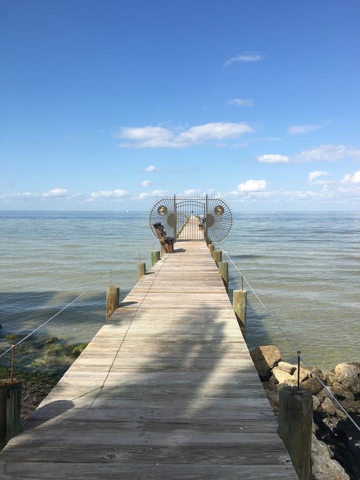 Bokeelia/Boca Grande pool,dock, private fish pier