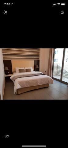 Flat 2 br juffair  balcony bd 600 month size 150 m