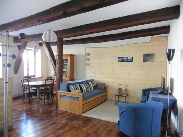 Grand T2 dans le centre historique d'Embrun - Embrun - Apartamento