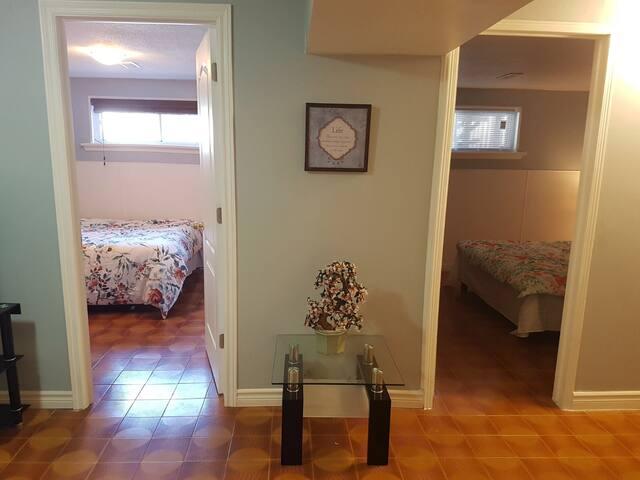 Very Beautiful 2 Bedroom in First floor of house