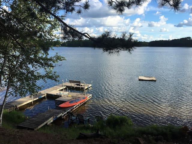 Cabin on a Lake-Land O' Lakes, WI