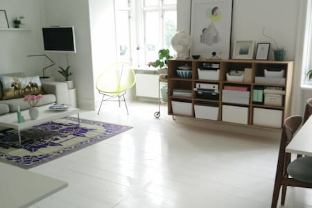 Cosy light apartment - super location - Frederiksberg - Apartment