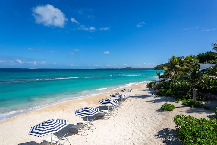7th Night Free at Sand Villa Anguilla on the Beach