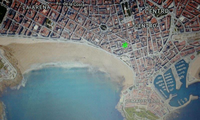 Habitación cerca de la playa San Lorenzo