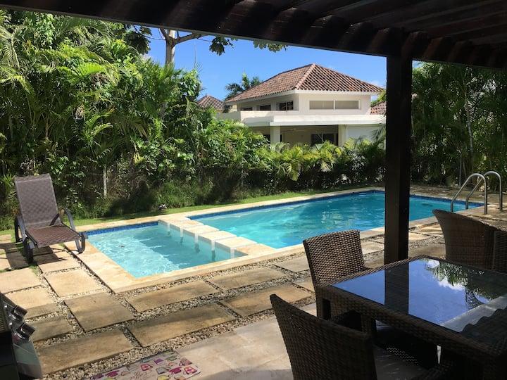 Fabulous Villa with Pool at Punta Cana