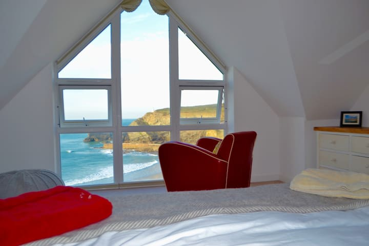Stunning sea view ensuite, Portreath Cornwall - Portreath - Dům