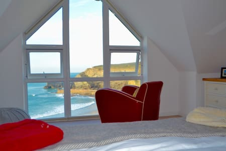 Stunning sea view ensuite, Portreath Cornwall - Portreath