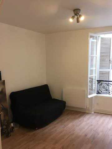 Studio refait à neuf de 22 m2 au cœur de Paris 16e