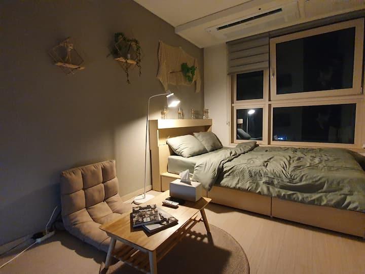 ☆612 Gangnam Residence/강남1min/신논현30sec/WIFI/방역,소독