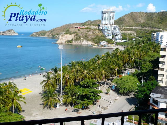 Cozy Apartment front of the Sea! - Santa Marta - Leilighet