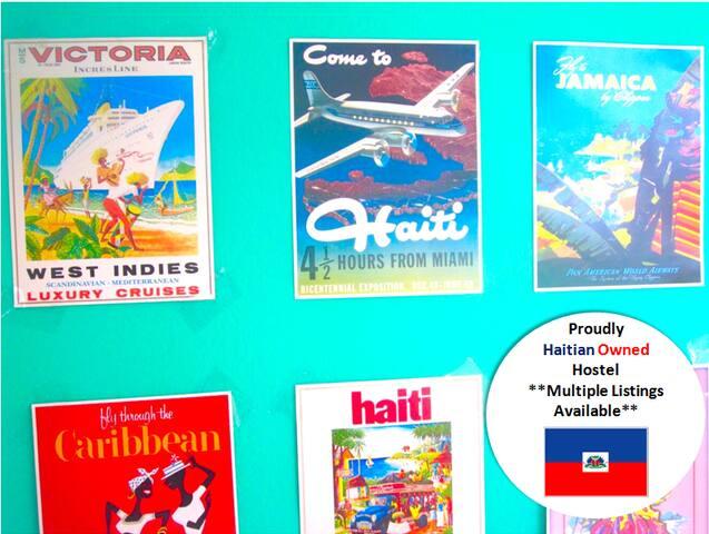 Bèl Backpackers*Haitian Owned Hostel (Bed 4 of 4) - Jacmel - Hostel