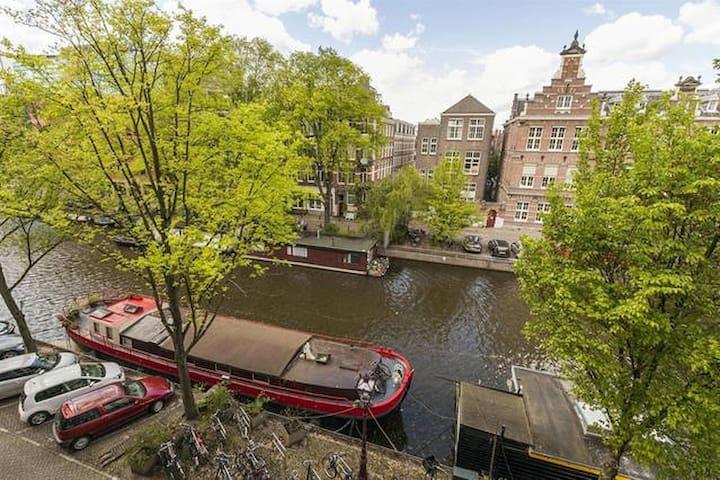 City Center, Canal View Near Leidseplein - Amsterdam - Byt