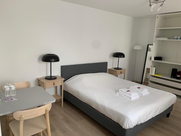 Nicely located studio near centre of Bruges