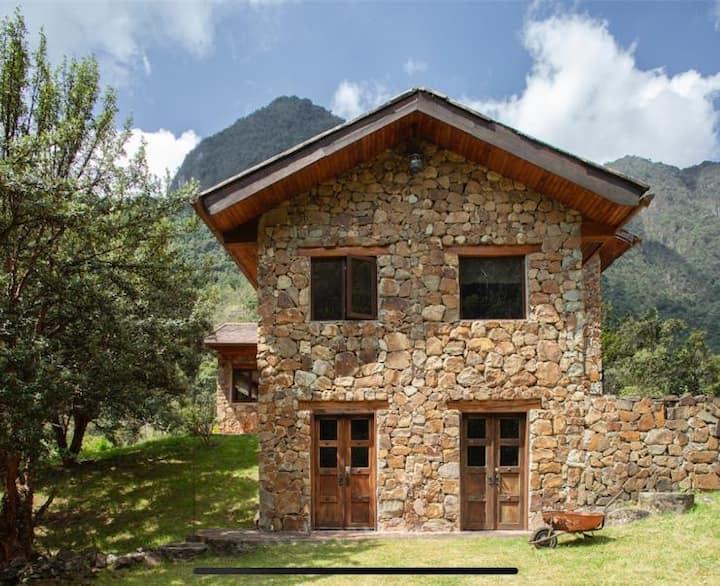 Casa en el bosque de mazan disfruta la naturaleza